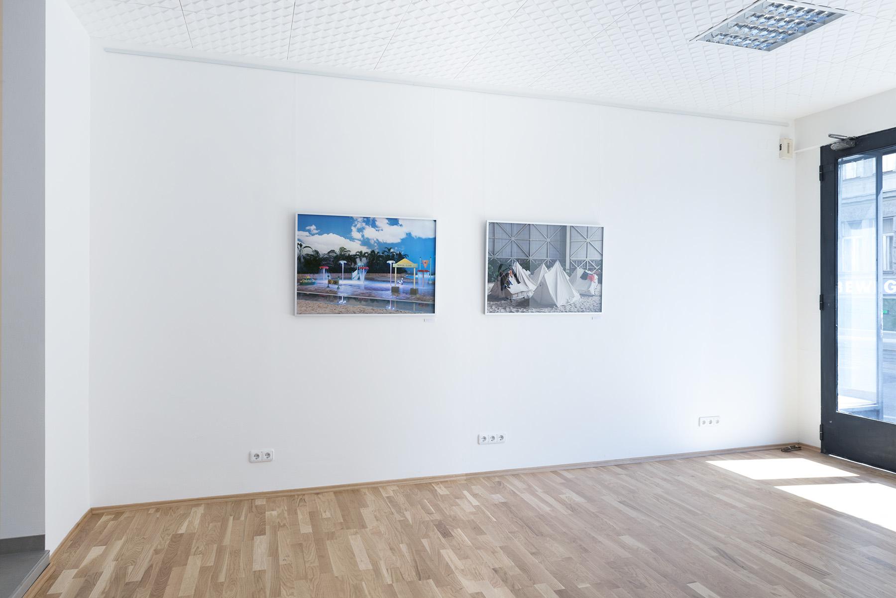 Recreation Now & Krausnick, Raumteiler Vienna, AT, 2014